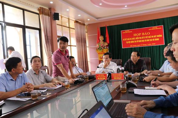 Cần chấm thẩm tra điểm thi THPT quốc gia ở Hà Giang - Ảnh 1.