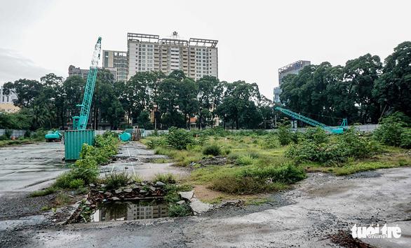 Dự án trung tâm Phan Đình Phùng đội vốn 2 lần, đổi  3 lô đất vàng - Ảnh 1.