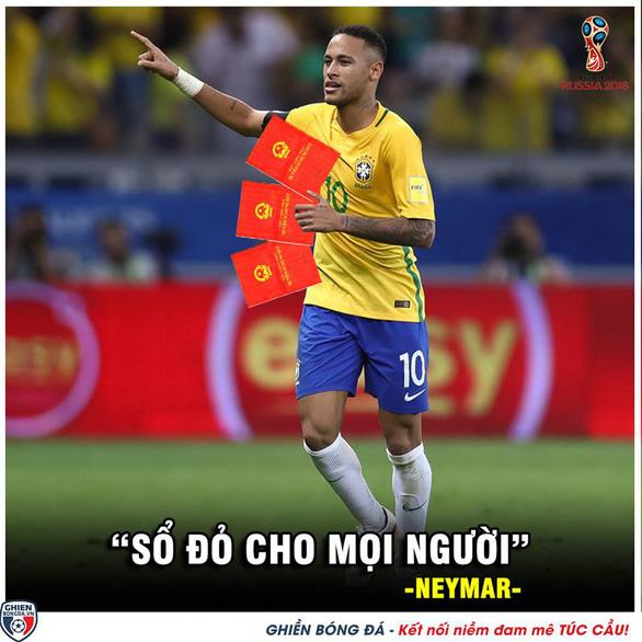 Dân mạng phát cuồng khi Neymar phá lời nguyền World Cup - Ảnh 7.