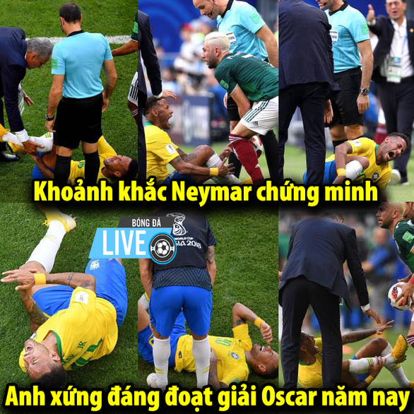 Dân mạng phát cuồng khi Neymar phá lời nguyền World Cup - Ảnh 9.