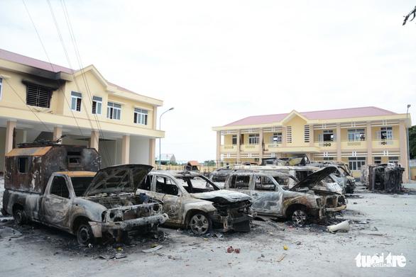 Truy tố 17 bị can gây rối ở Bình Thuận - Ảnh 2.