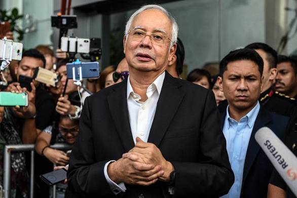 Cựu thủ tướng Malaysia, Najib Razak, bị bắt vì cáo buộc tham nhũng - Ảnh 1.