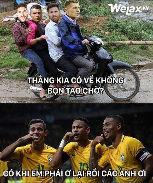 Dân mạng phát cuồng khi Neymar phá lời nguyền World Cup - Ảnh 3.
