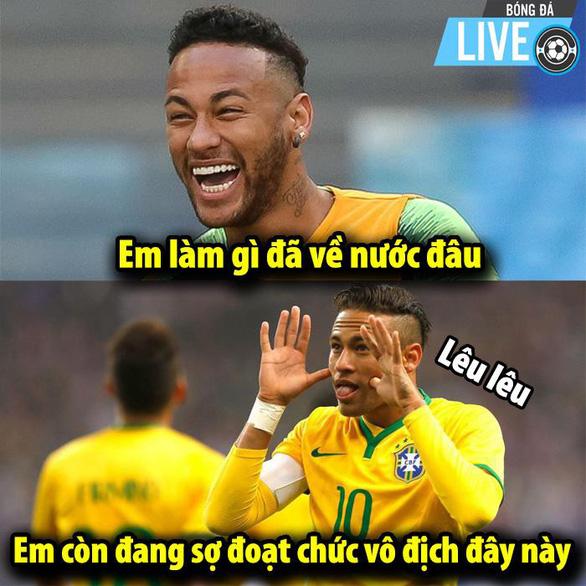 Dân mạng phát cuồng khi Neymar phá lời nguyền World Cup - Ảnh 5.
