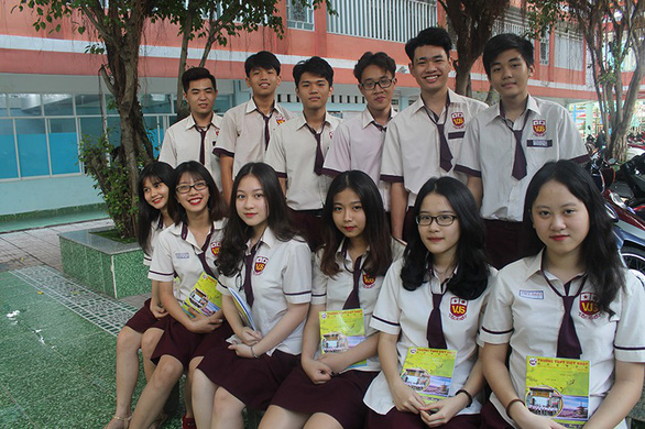 THPT Việt Nhật - giáo dục gắn liền trải nghiệm sáng tạo - Ảnh 1.