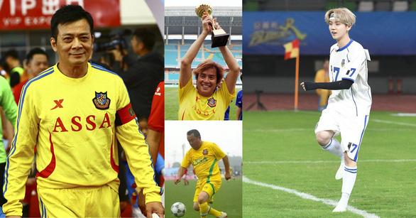 Khi Huỳnh Nhật Hoa, Tăng Chí Vỹ, Lộc Hàm… làm cầu thủ  - Ảnh 1.