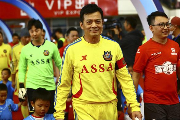 Khi Huỳnh Nhật Hoa, Tăng Chí Vỹ, Lộc Hàm… làm cầu thủ  - Ảnh 2.