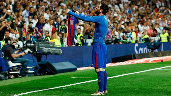 Messi và sự trân trọng từ đối thủ không đội trời chung - Ảnh 5.