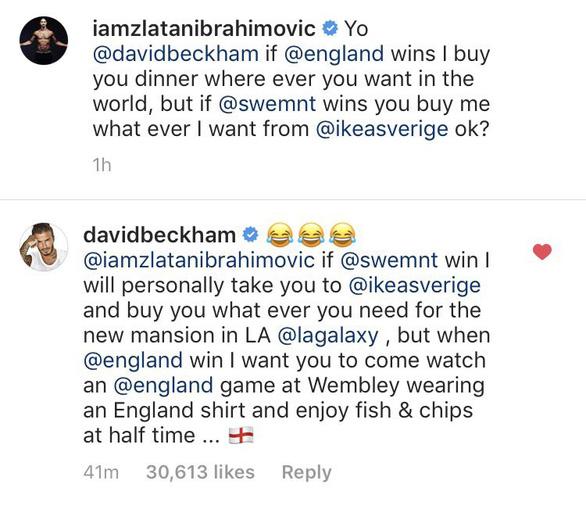 Trước thềm tứ kết, Zlatan và Beckham hẹn lịch… đi mua đồ - Ảnh 1.