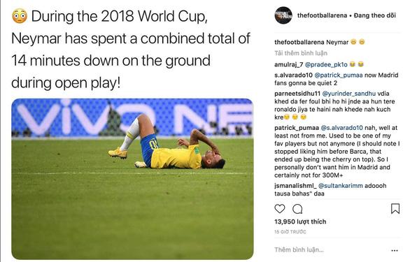 Chú bé chăn cừu Neymar biến World Cup thành Euro - Ảnh 1.