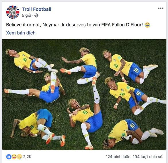 Chú bé chăn cừu Neymar biến World Cup thành Euro - Ảnh 3.