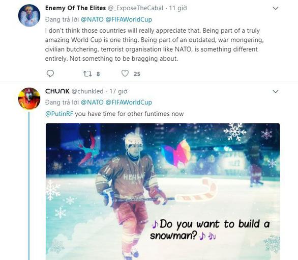 Mạng xã hội dậy sóng vì NATO khoe có 4 thành viên vào bán kết World Cup - Ảnh 4.