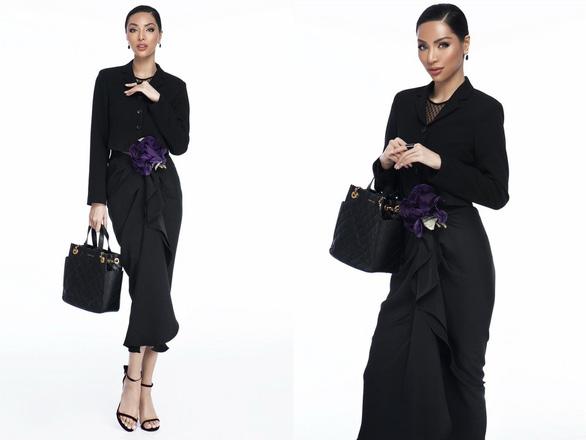 Một chân váy đen, mười cách mặc sáng tạo! - Ảnh 3.