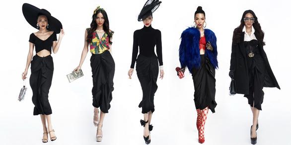 Một chân váy đen, mười cách mặc sáng tạo! - Ảnh 1.