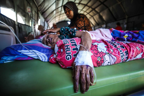 Lombok hoang tàn sau động đất - Ảnh 9.