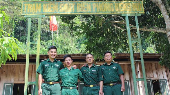 Lính biên phòng ở Kẻng Mỏ - Ảnh 1.