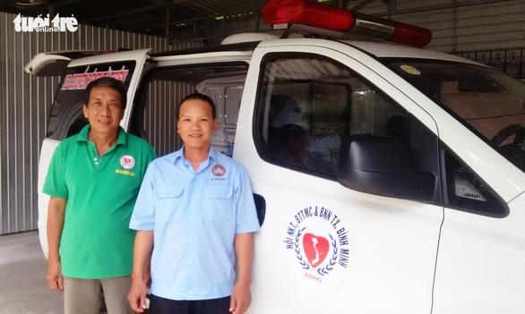 Dịch vụ cơm nước và  xe cứu thương... 0 đồng - Ảnh 3.