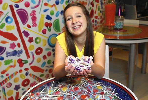 Nữ sinh 13 tuổi Alina Morse và công ty kẹo triệu đô - Ảnh 1.