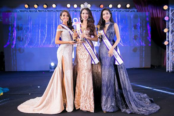 Phan Thị Mơ đăng quang Hoa hậu Đại sứ du lịch thế giới 2018 - Ảnh 1.