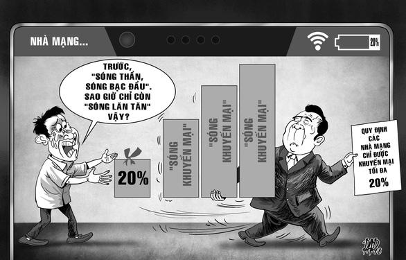 Trần khuyến mãi 20% khiến thuê bao di động thiệt thòi! - Ảnh 2.