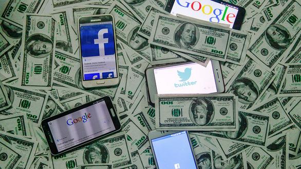 Tranh cãi nảy lửa việc Facebook, Google phải trả tiền bản quyền - Ảnh 1.