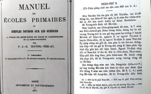 Người có công đầu với chữ quốc ngữ:  Viết sách giáo khoa - Ảnh 1.
