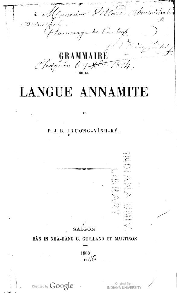 Người có công đầu với chữ quốc ngữ:  Viết sách giáo khoa - Ảnh 4.
