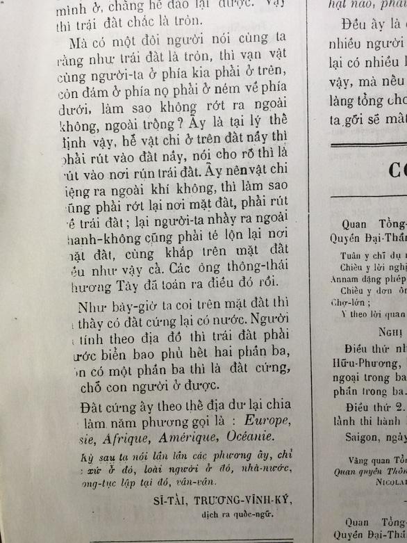 Người có công đầu với chữ quốc ngữ - kỳ 4: Nhà báo Trương Vĩnh Ký - Ảnh 4.