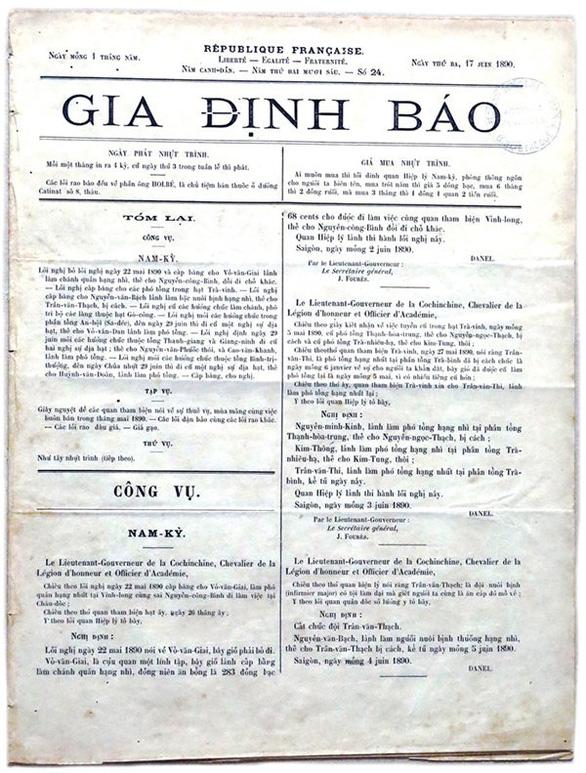 Người có công đầu với chữ quốc ngữ - kỳ 4: Nhà báo Trương Vĩnh Ký - Ảnh 3.
