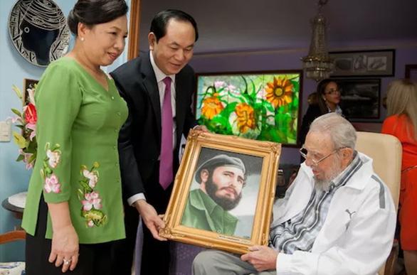 Cuộc gặp cuối cùng Chủ tịch nước Trần Đại Quang với Fidel Castro - Ảnh 3.