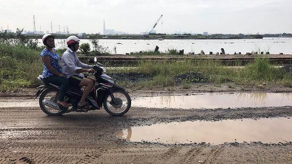 Biến đê bao thành đường ven sông Sài Gòn - Ảnh 1.
