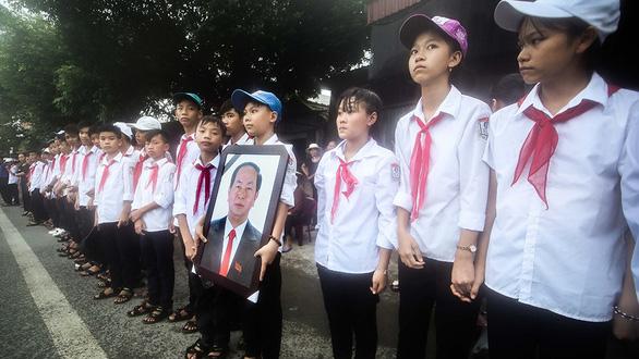 Tiễn biệt Chủ tịch nước Trần Đại Quang - Ảnh 3.