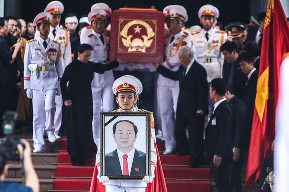 Tiễn biệt Chủ tịch nước Trần Đại Quang - Ảnh 1.