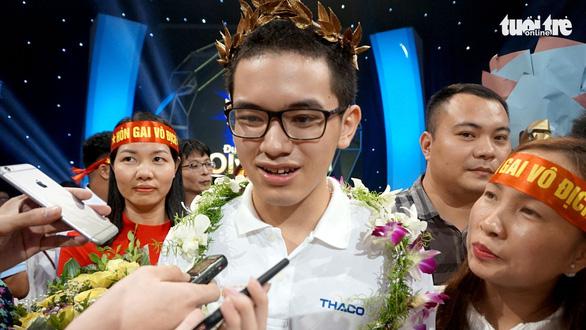 Nguyễn Hoàng Cường vô địch Đường lên đỉnh Olympia 2018 - Ảnh 1.