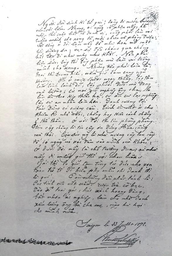 Người có công đầu với chữ quốc ngữ - Kỳ 2: Tiên phong phổ biến chữ quốc ngữ - Ảnh 2.