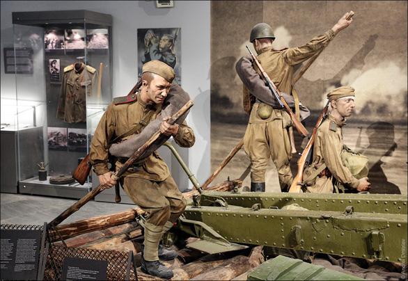 Thăm Bảo tàng chiến tranh Vệ quốc vĩ đại ở Minsk - Ảnh 3.