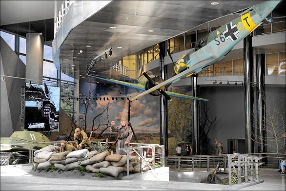 Thăm Bảo tàng chiến tranh Vệ quốc vĩ đại ở Minsk - Ảnh 2.