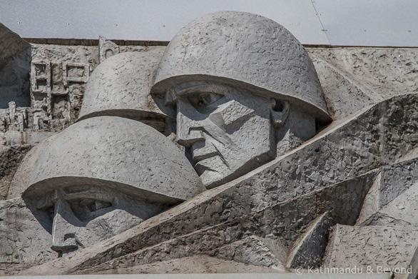 Thăm Bảo tàng chiến tranh Vệ quốc vĩ đại ở Minsk - Ảnh 4.