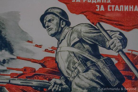 Thăm Bảo tàng chiến tranh Vệ quốc vĩ đại ở Minsk - Ảnh 6.
