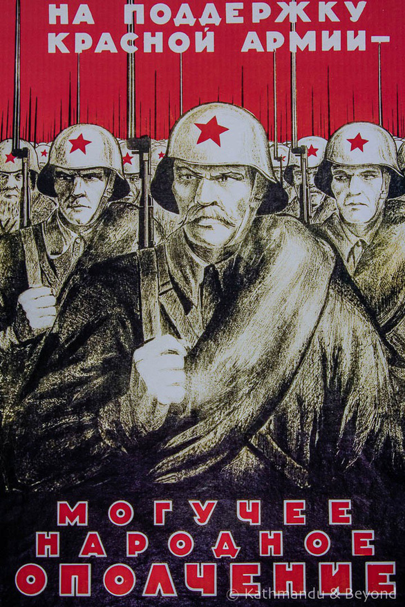 Thăm Bảo tàng chiến tranh Vệ quốc vĩ đại ở Minsk - Ảnh 7.