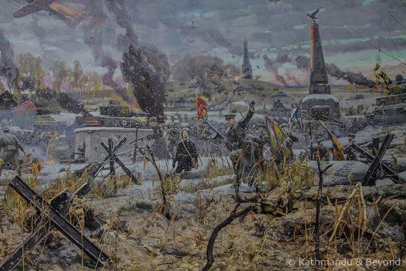 Thăm Bảo tàng chiến tranh Vệ quốc vĩ đại ở Minsk - Ảnh 9.