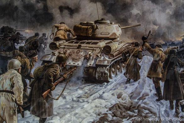 Thăm Bảo tàng chiến tranh Vệ quốc vĩ đại ở Minsk - Ảnh 10.