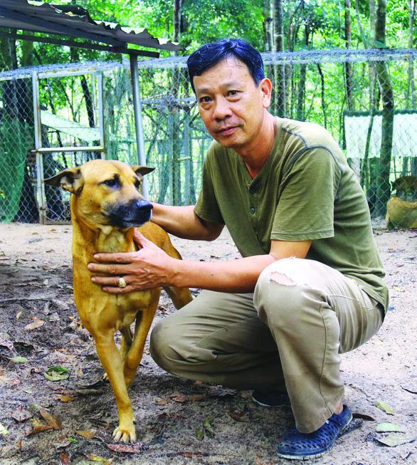 Tuấn Chó và hành trình gian nan bảo tồn chó xoáy Phú Quốc - Ảnh 1.
