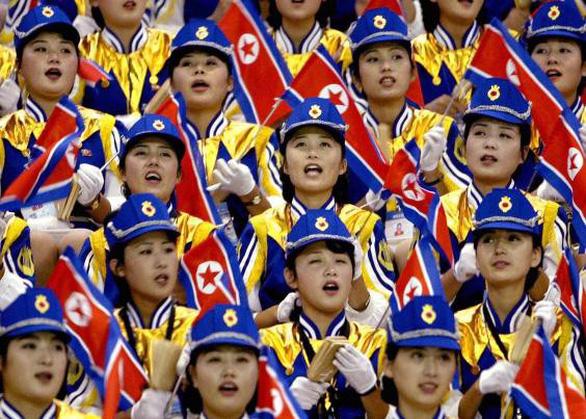 Ngắm binh đoàn mỹ nữ Triều Tiên trong các kỳ thể thao - Ảnh 2.