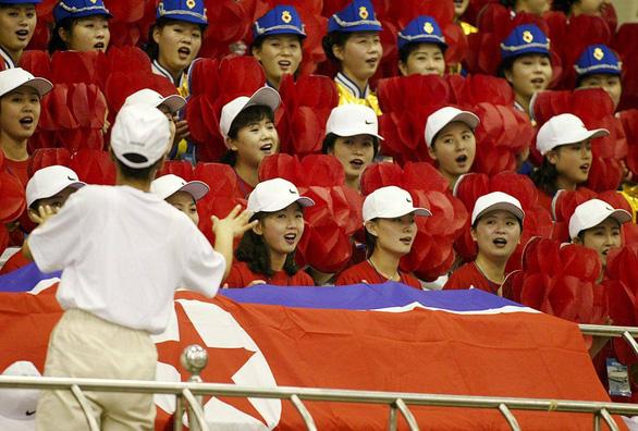 Ngắm binh đoàn mỹ nữ Triều Tiên trong các kỳ thể thao - Ảnh 4.