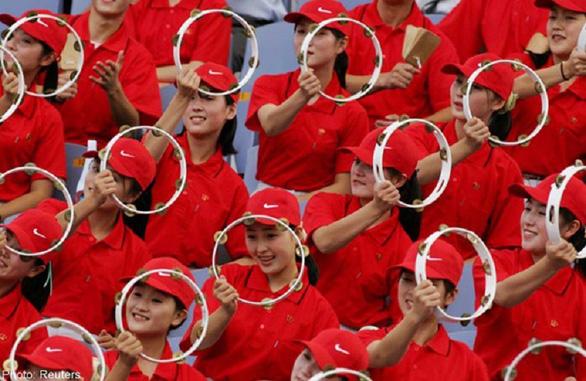 Ngắm binh đoàn mỹ nữ Triều Tiên trong các kỳ thể thao - Ảnh 5.