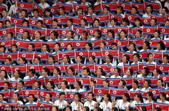 Ngắm binh đoàn mỹ nữ Triều Tiên trong các kỳ thể thao - Ảnh 6.