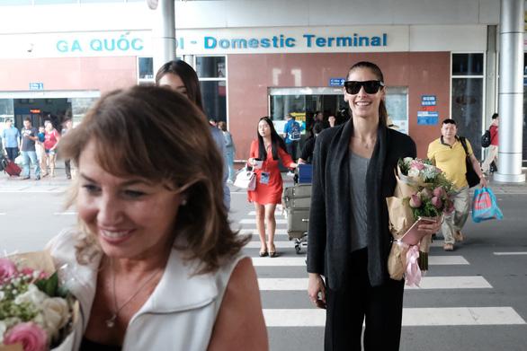 Hoa hậu hoàn vũ thế giới 2008 vừa đến Khánh Hòa  - Ảnh 6.