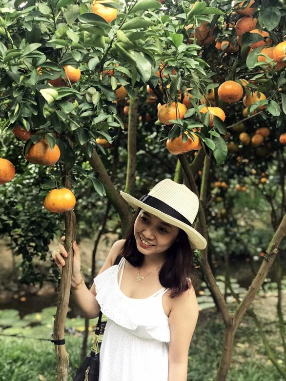 Gần Tết đi thăm làng quýt hồng Lai Vung - Ảnh 8.