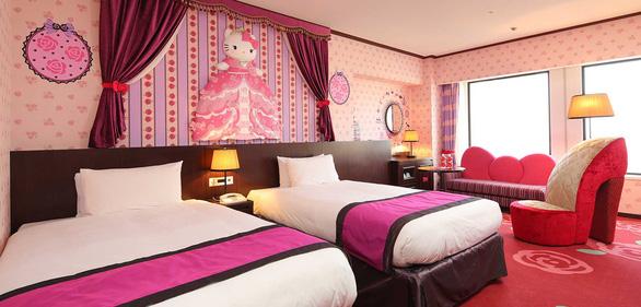 Làm công chúa trong khách sạn Hello Kitty - Ảnh 5.